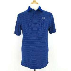 Under Armour Polo Collar Shirt Size S Blue